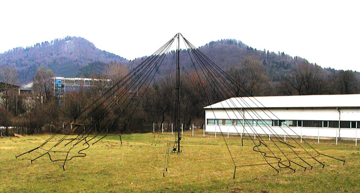 KUA-35/5 HF Broadband Transportable HF Antenna