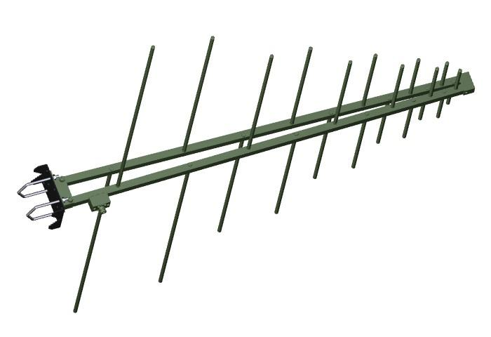 Antenna AD-22/A VHF/UHF log-periodic