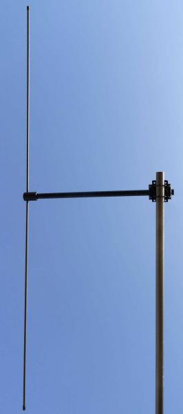 Antenna AD-39/3512 VHF/UHF dipole on mast