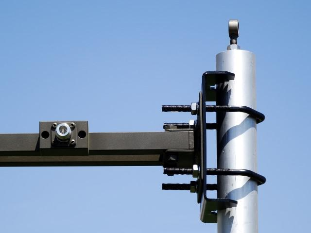 Antenna AD-22/B attachment detail