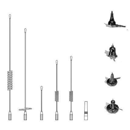 Mobile antennas ADS-21/07