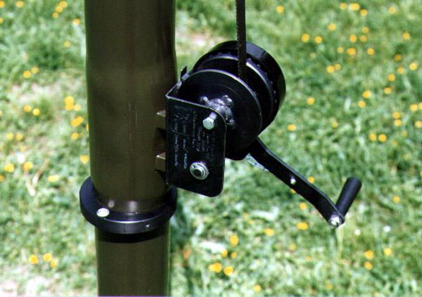 STV telescopic winch driven masts | Trival Antene