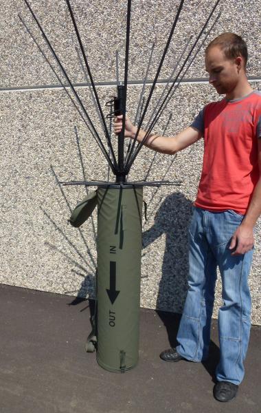 Antena AD-17/C-1512-F vstavitev