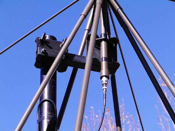 Antenna AD-17/B-110 attachment bracket