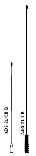 Mobile antennas 4m band
