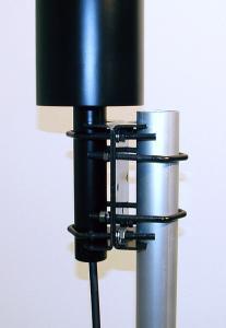Antenna AD-10/S on mast