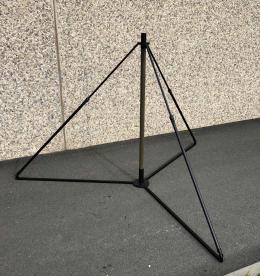 ST-R tripod stand prepared