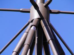 Antenna AD-17/B-110 antenna hub detail