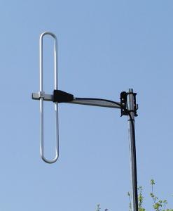 Antenna AD-39/2 on mast