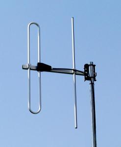 Antenna AD-40/2-2 on mast