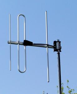 Antenna AD-40/2-3 3-element VHF yagi